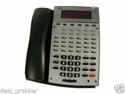 NEC  Aspire 34 Button Display IP Telephone Stock # 0890065 ~ Factory Refurbished