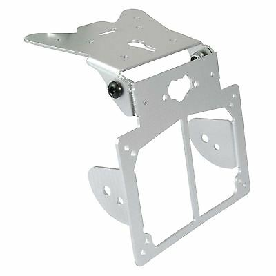 Bikeit motorcycle scooter bike universal number plate mounting hanger bracket