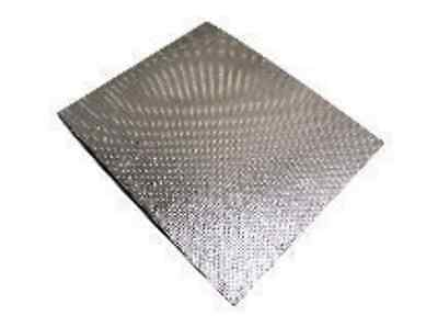Self Adhesive Exhaust / Engine Aluminium Reflective Heat Shield Sheet 40 x 33cm