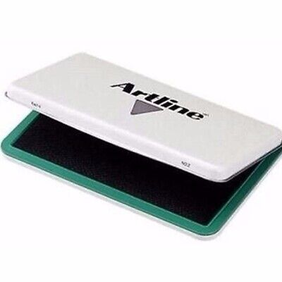Artline EHJ-2 Stamp Pad #0 Green 56 x 90mm 12104