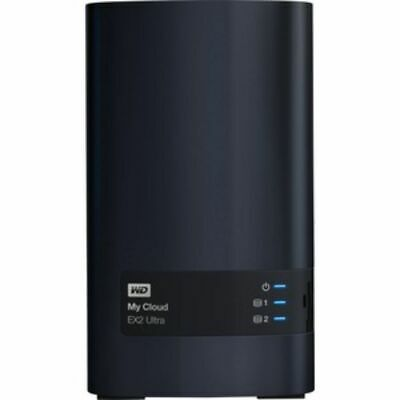 WD My Cloud EX2 2-Bay 4TB Ultra Network Attached Storage