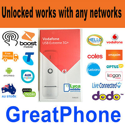 Unlocked New Huawei Vodafone K4606  USB Extreme 3G+ Modem * 3GB  * All network