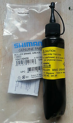 Genuine Shimano Roller Brake Grease 100g Tube