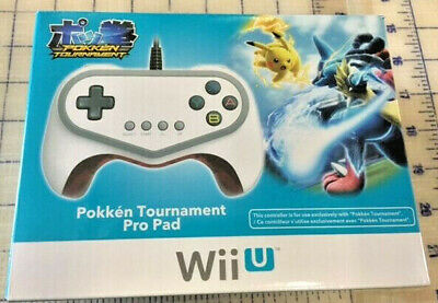 Hori Pokken Tournament Pro Pad Limited Edition Controller for Nintendo Wii U NEW