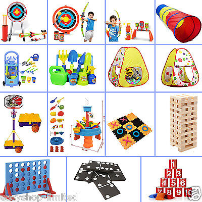 Large Outdoor Giant Garden Games Kids Adults Family Sports Beach Toys Play Fun