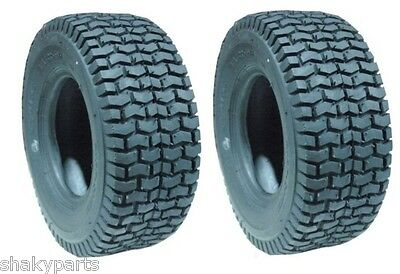 (2) Original CARLISLE 15X6X6 15X6.00-6 Turf Tires 2PLY