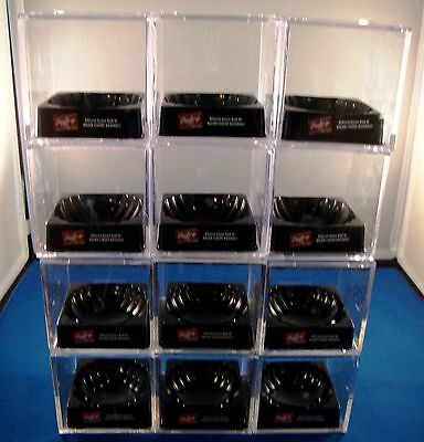 Lot Of (12) Used Baseball Cubes With Black Bases