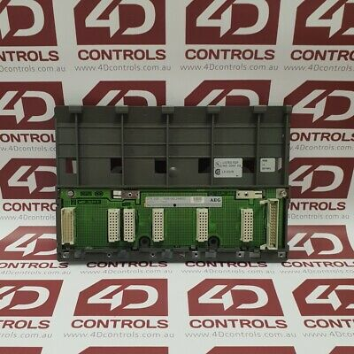 Modicon AS-HDTA-200 Primary Subrack 5 Slots - Used