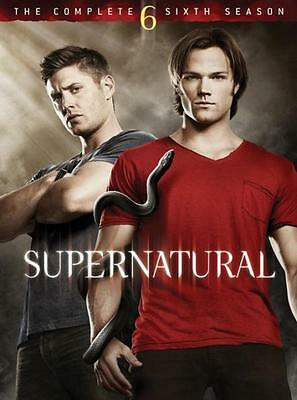 Supernatural : Series Season 6 DVD, 2011, 6-Disc Set R4 New