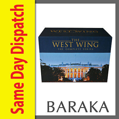 the west wing complete series season 1 2 3 4 5 6 7 new dvd aud picclick au. Black Bedroom Furniture Sets. Home Design Ideas