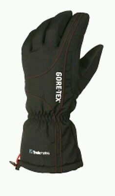 Trekmates Men's Gore-Tex Chamonix Gloves - Black/Red Extra Large