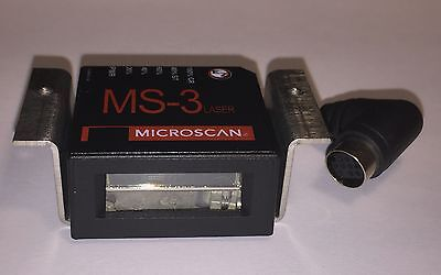 NEW Microscan MS-3 FIS-0003-0036 Laser Raster High Density Barcode Scanner NIB