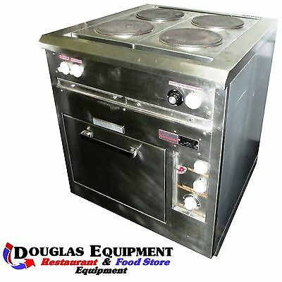 Used Toastmaster 436 KLB  Electric Range - 4 french plates with oven