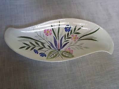Red Wing Pottery Floral Platter Tray