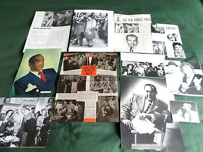 Broderick Crawford - Film Star - Clippings /cuttings Pack