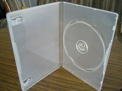 100 High Quality Super Clear 14Mm Single Dvd M-Lock Case Psd23M