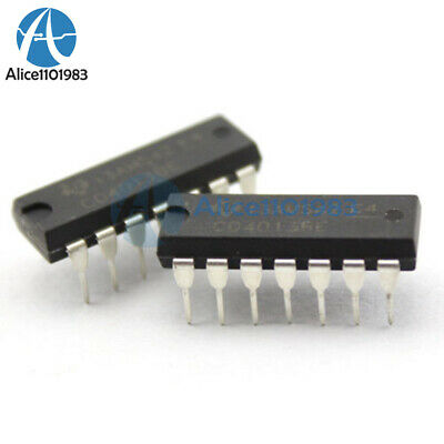 25PCS CD4013BE Integrated Circuit Dual D-Type Flip Flop DIP14