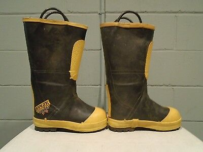Ranger Shoe Fit Fire Boots NEW Bunker Boots Turnout Boots Mens Size 7M