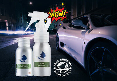 AllNano Carcare Exterior Kit Nano Ceramic Coat PRO, Glasshield, Nano cleaner