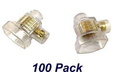 100 x 6mm Single Screw Connector - Junction Electrical - Jar of 100