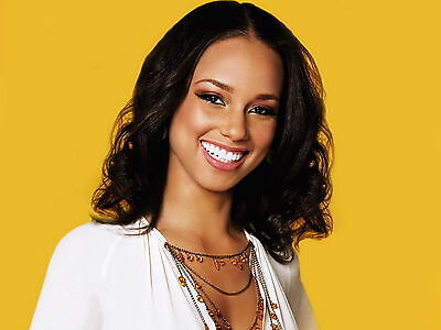 Alicia Keys 8X10 Glossy Photo Picture