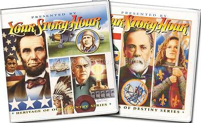 NEW Your Story Hour History Albums 6 & 7 24 CDs Heritage of Country & Patterns