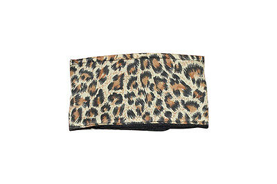 **Buy 2 get 1 free** dog puppy belly band **leopard** marking wee wrap nappy