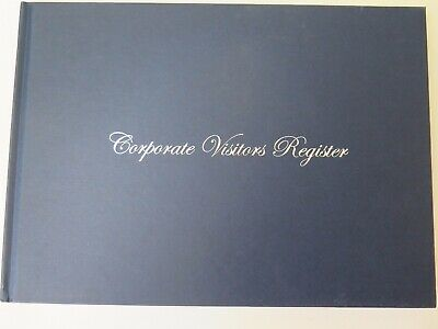 Wildon 250W A4 Corporate Visitors Register Book 56P 300 x 215mm WIL250
