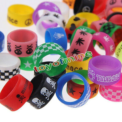 10Pcs Vape Rings Rubber Silicone Bands Band For Mechanical Mods RBAs RDAs Tank