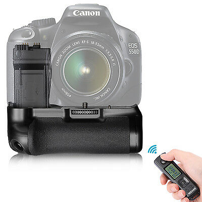 Neewer Battery Grip for Canon 550D,600D,650D,700D+ Remote Controller ND#17