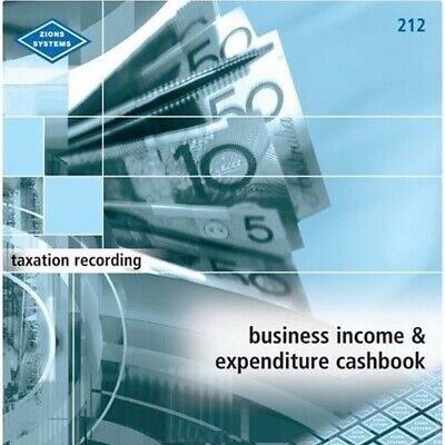 Zions Business Income and Expenditure Cashbook 212