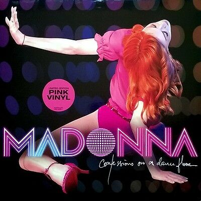 Madonna - Confessions On A Dancefloor - 2 x Limited Pink Vinyl LP *NEW & SEALED*