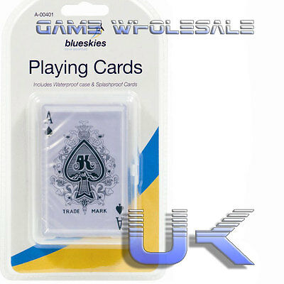 Waterproof Playing Cards - Plastic Coated - Travel Camping Poker Drinking Games