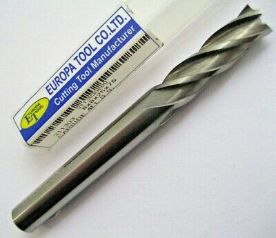 8mm SOLID CARBIDE 4 FLUTED LONG SERIES END MILL EUROPA TOOL 3113030800  #143