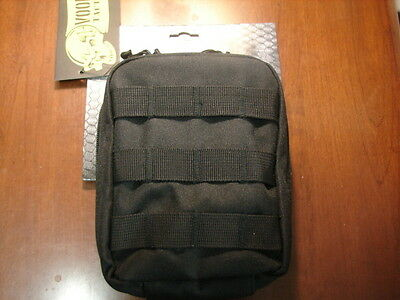 Voodoo Black Tactical Molle Emt Or First Aid Pouch Bag***new***