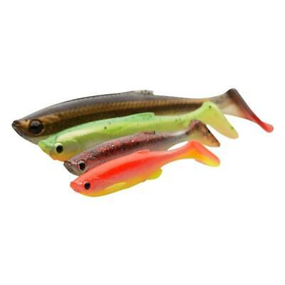 SAVAGE GEAR 3D Fat T-Tail Minnow 7,5 9 10,5 13cm Shad Gummifisch Zander Hecht