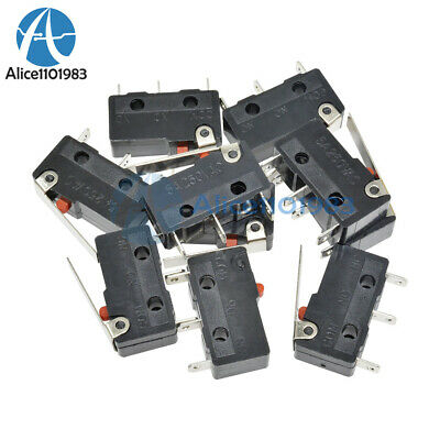 10PCS Tact Switch KW11-3Z 5A 250V Microswitch 3PIN Buckle New