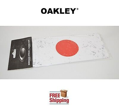 Oakley® Sunglasses Eyeglasses Microclear Cleaning Storage Bag Japan Flag New