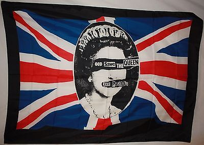 Sex Pistols Band Members Photo Cloth Poster Flag Fabric Textile Tapestry-New!
