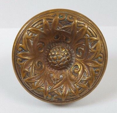 Collectible Antique C130 Pineapple Corbin Romanesque Doorknob Door Knob Hardware