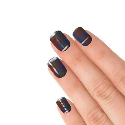 Elegant Touch express faux ongles - Tendance TARTAN (24 ongles)