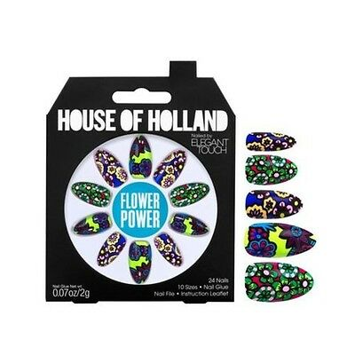 House of Holland faux ongles - Flower Power (24 ongles)