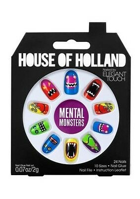 House of Holland faux ongles - mentale MONSTRES (24 ongles)