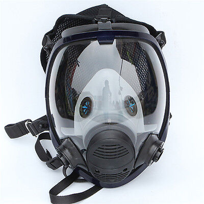 Full Face Facepiece Respirator For 6800 Comprehensive Protection Gas Mask Tools