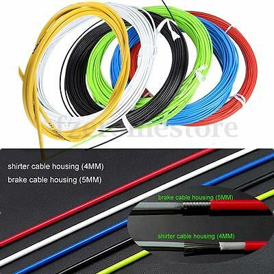Road MTB Mountain Bike Bicycle Housing Cable Brake Shifter Derailleur Wires Kit