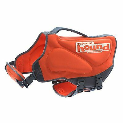 Outward Hound Kyjen 22024 Pup Saver Neoprene Dog Life Jacket, Small, Orange
