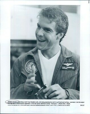 1987 Actor Dennis Quaid Stars in Innerspace Press Photo