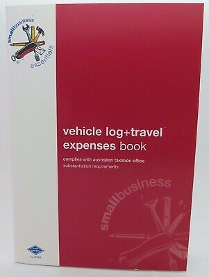 Zions Vehicle Log + Travel Expenses Book 210 x 145mm SBE10
