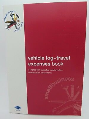 3 x Zions Vehicle Log + Travel Expenses Book 210 x 145mm SBE10