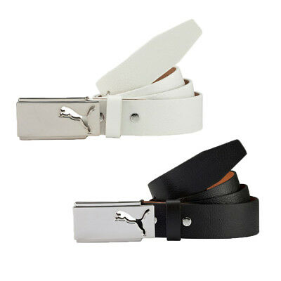 New Puma Golf 2016 High Flyer Leather Fitted Belt - Pick Color & Size!